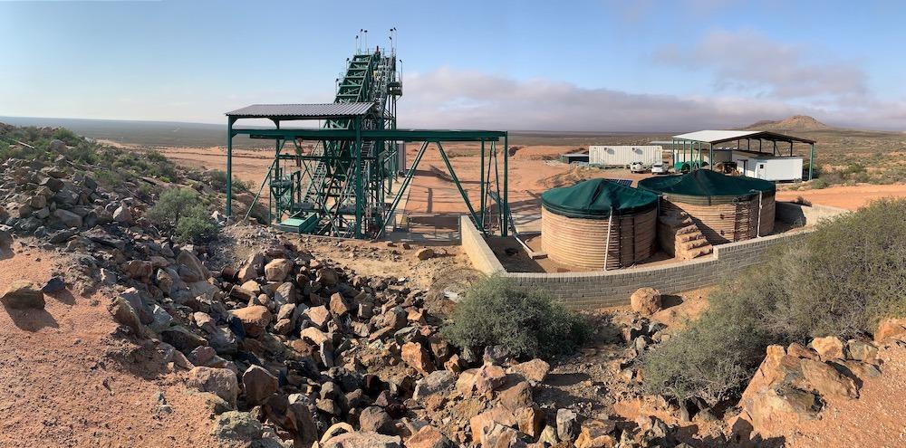 steenkampskraal rare earth mine